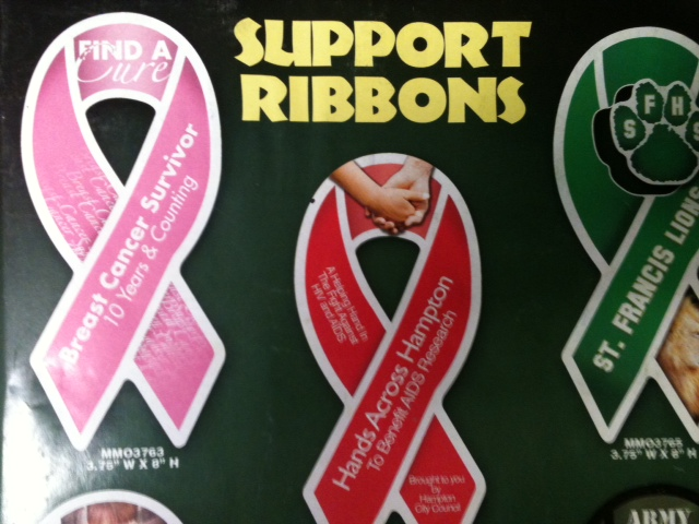 Support Ribbon Thin Magnets