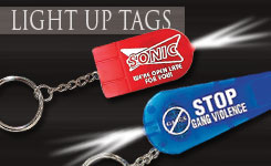 Light Up Key Chains