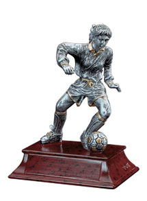 Soccer Elite Resin Figures