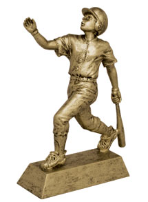 Baseball Signature Resin Figures