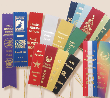 Custom Award Ribbons