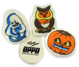 JNK-3916 Assorted Halloween Erasers