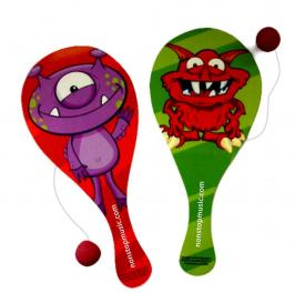 JNK-9942 Silly Monster Paddle Ball Game