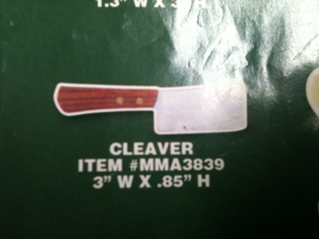 Cleaver Thin Stock Magnet
