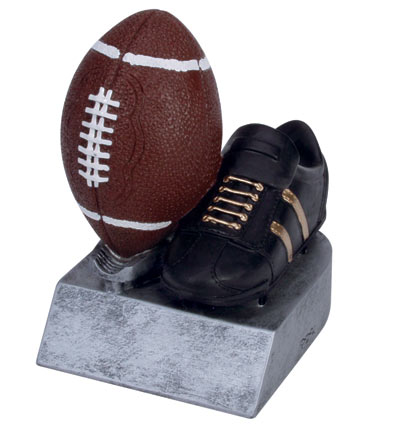 Football Color Tek Resin Figures