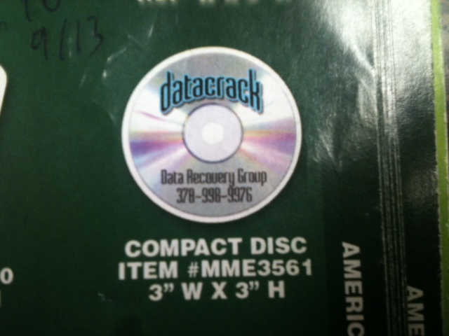 Compact Disc Thin Stock Magnet