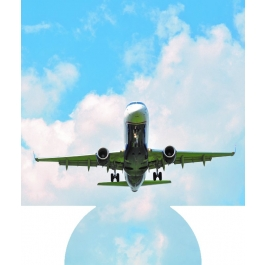 Airplane Sublimated Hugger GM-HGFC-APL