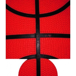 Basketball 2 Sublimated Hugger GM-HGFC-BB2