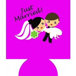 Bride And Groom Sublimated Hugger GM-HGFC-BNG