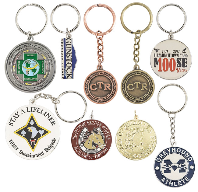 Custom Medal Single & Double-Sided Key Chains