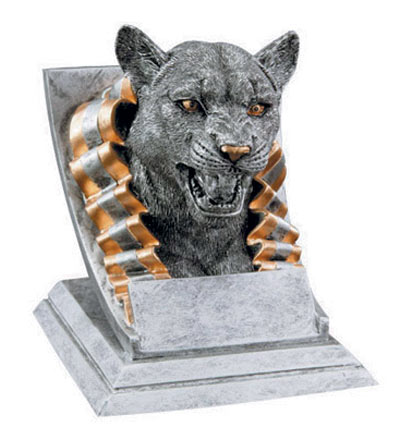 Resin Cougar Mascot Trophies