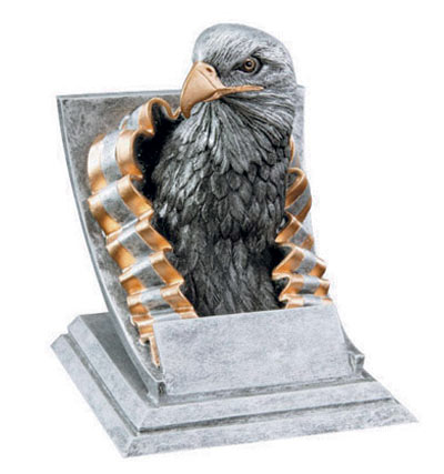 Resin Eagle Mascot Trophies
